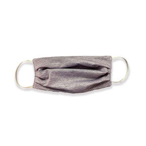 Ash Grey Heather Face Mask