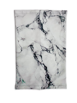 Frosty Marble Neck Gaiter