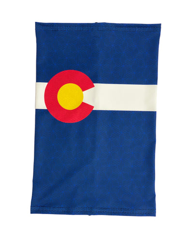 Image of Colorado Flag Neck Gaiter