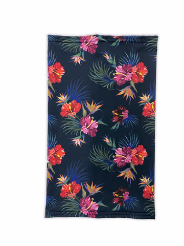 Tropical Floral Neck Gaiter