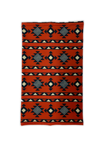 Red Aztec Neck Gaiter