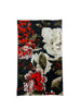Black Floral Neck Gaiter