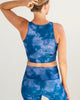 Indigo Fog Crop Top