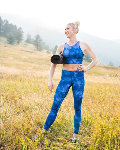 Indigo Fog Yoga Pants