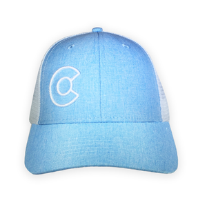 Blue Colorado C Trucker Hat