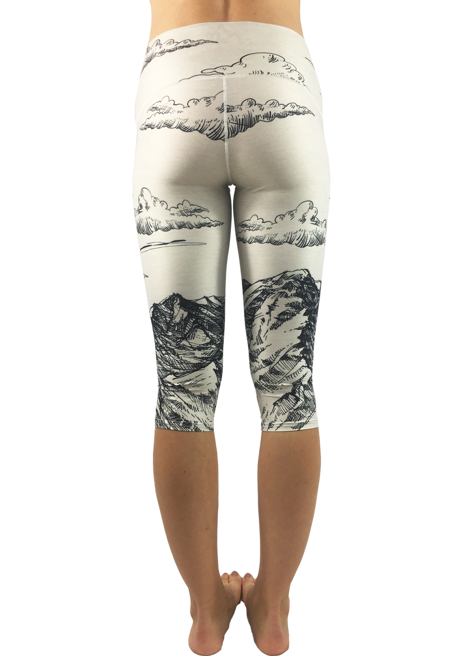 Mountain Sketch Capris