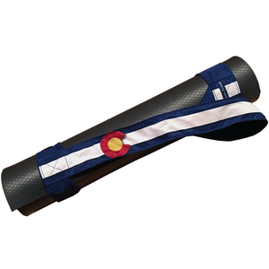 Colorado Flag Yoga Mat Strap