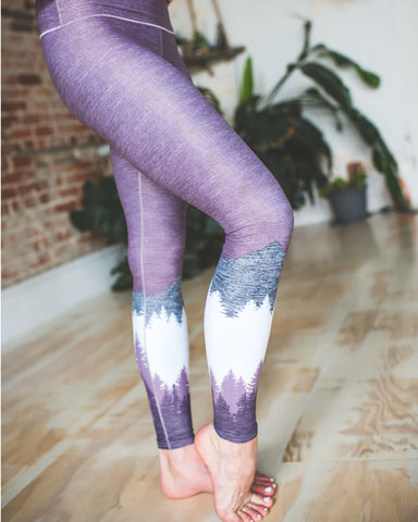 Mauve Mountain Yoga Pants