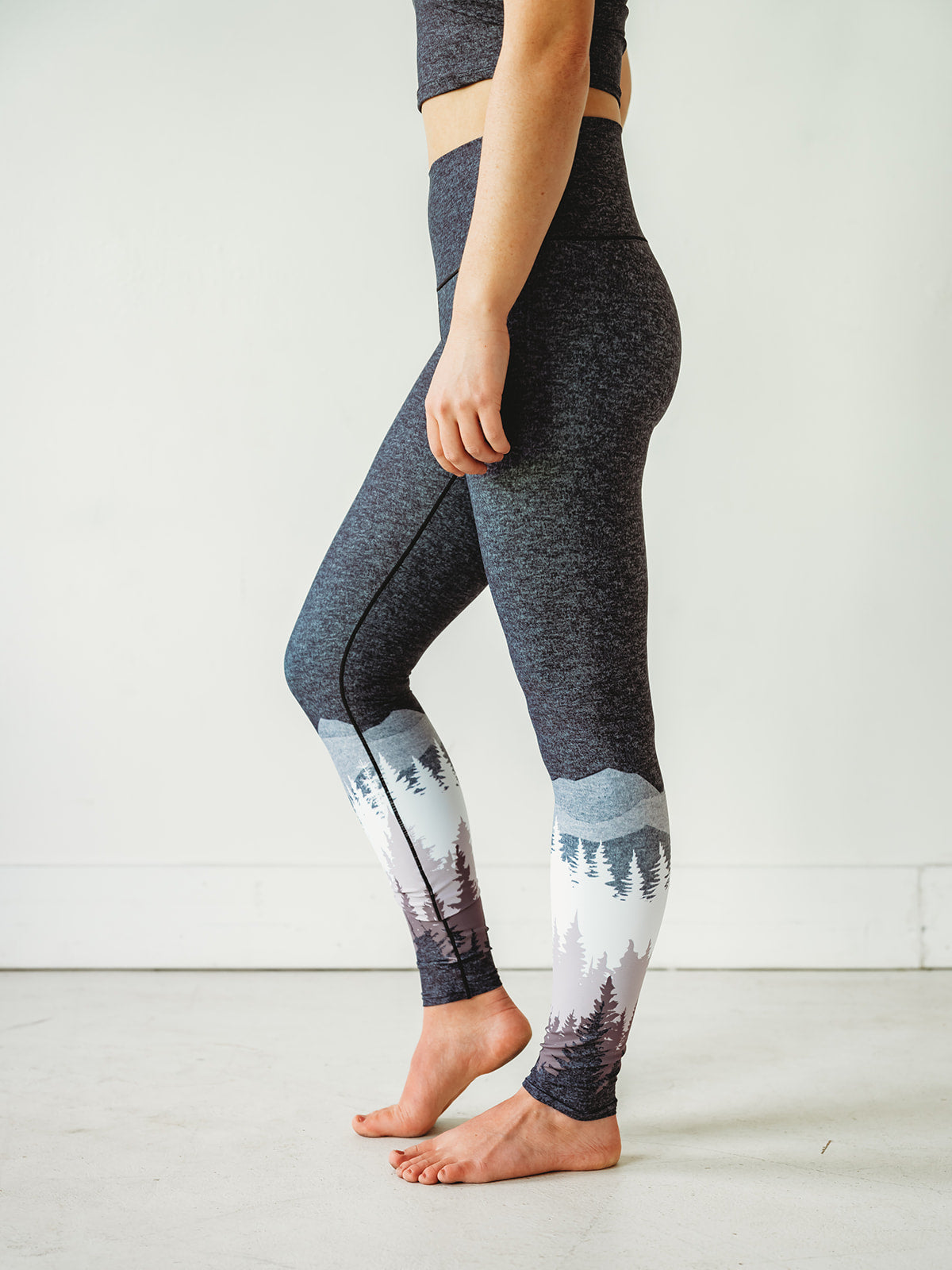 Mauve Summit Yoga Pants