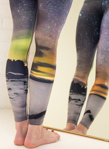 Image of Northern Lights Yoga Pants