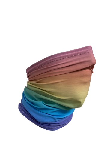 Image of Rainbow Ombre Neck Gaiter