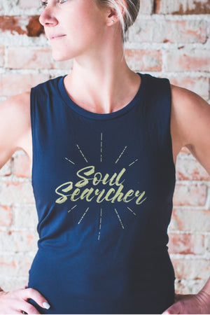 Soul Searcher Muscle Tank *FINAL SALE*