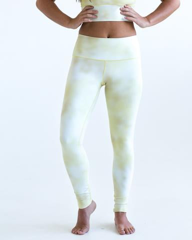 Image of Sunshine Tie Dye Sports Bra & Yoga Pants Bundle