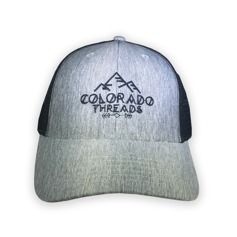 Image of Threads Heather Grey Trucker Hat