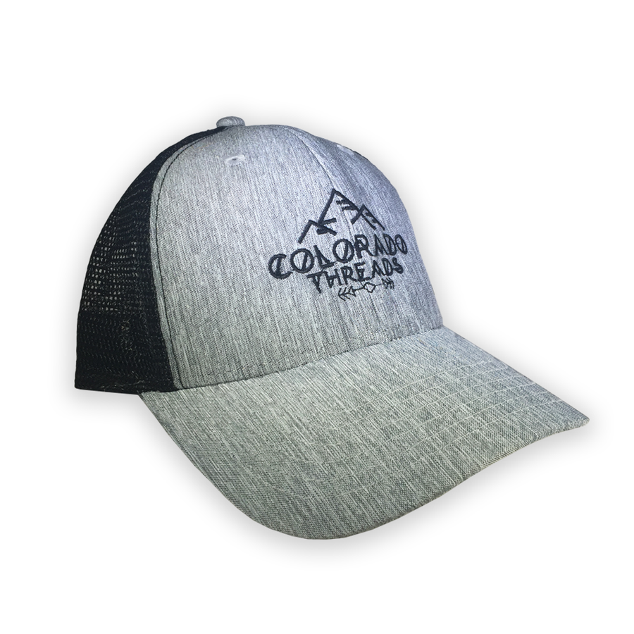 Threads Heather Grey Trucker Hat