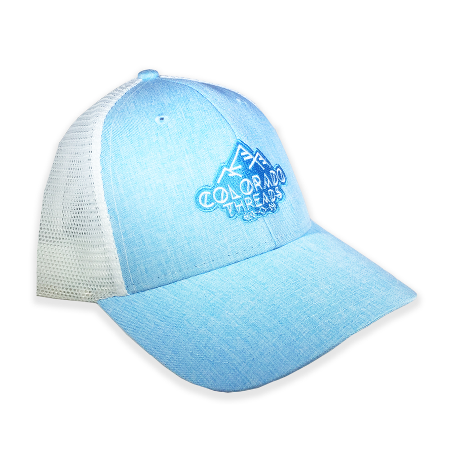 Threads Light Blue Trucker Hat