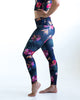 Tropical Floral Yoga Pants