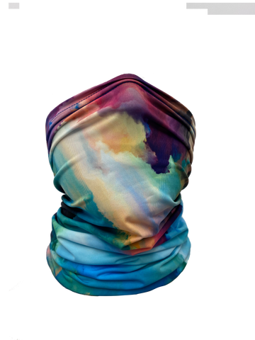 Image of Watercolor Neck Gaiter