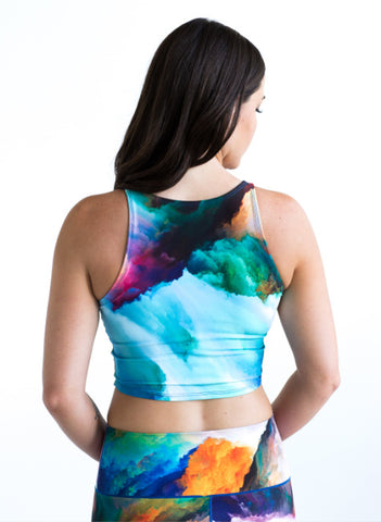 Image of Watercolor Crop Top