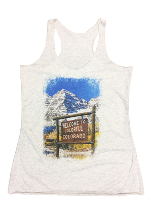 Welcome to Maroon Bells Tank   *FINAL SALE*