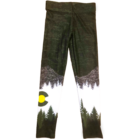 Image of Youth Olive Native Pants