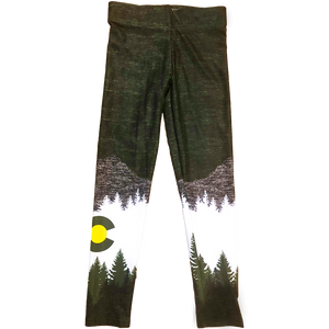 Youth Olive Native Pants