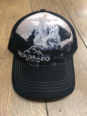 Colorado Black Mountain Trucker Hat