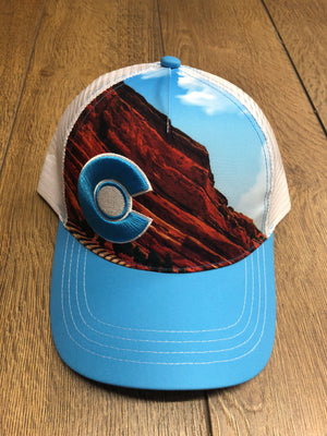 Red Rocks Trucker Hat