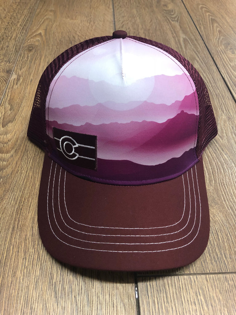 Burgundy Mist Trucker Hat