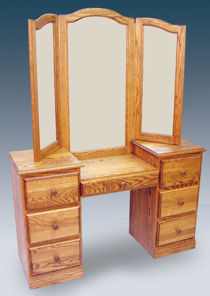 170 Dressing Table with Winged Mirror - Old Hippy Wood Products 2415-80 Ave, Edmonton, AB