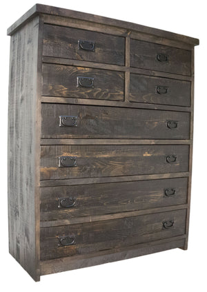 Rustic 206A 8 Drawer Lingerie - Old Hippy Wood Products 2415-80 Ave, Edmonton, AB