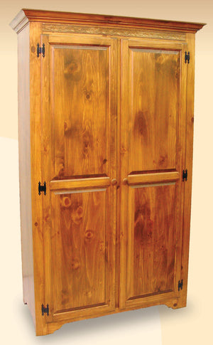 282 Shaker Wardrobe with 2 Doors and 2 Shelves - Old Hippy Wood Products 2415-80 Ave, Edmonton, AB