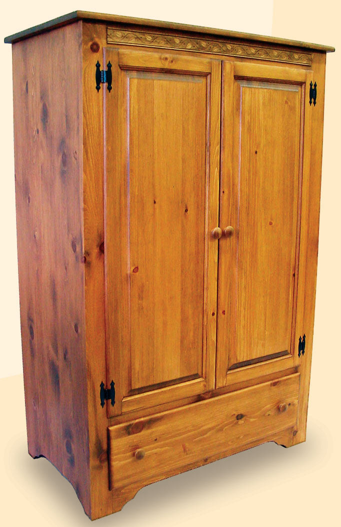 285 Shaker Wardrobe with 2 Doors and 1 Drawer - Old Hippy Wood Products 2415-80 Ave, Edmonton, AB