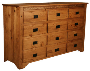 291 Shaker 12 Drawer Dresser - Old Hippy Wood Products 2415-80 Ave, Edmonton, AB