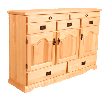 347 Colonial SideBoard - Old Hippy Wood Products 2415-80 Ave, Edmonton, AB