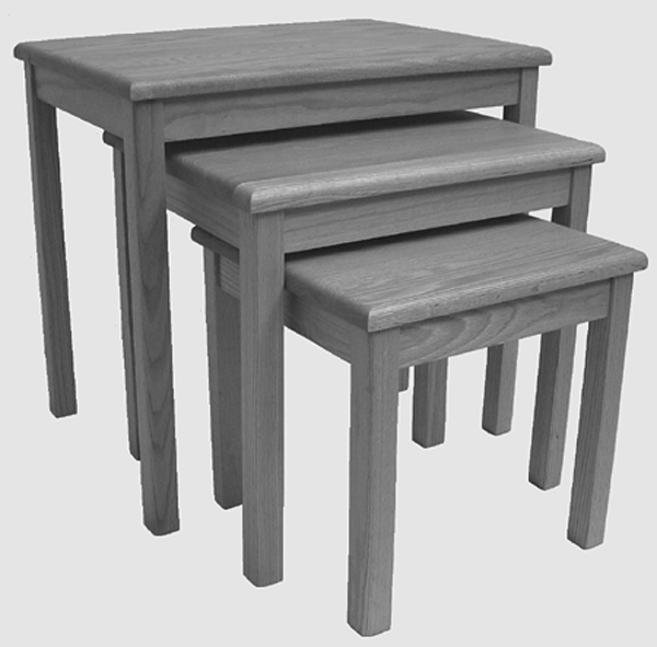 064 4/4 Nesting Tables - Old Hippy Wood Products 2415-80 Ave, Edmonton, AB