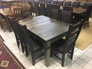 Rustic Table and Chairs with Designer Legs - Old Hippy Wood Products 2415-80 Ave, Edmonton, AB