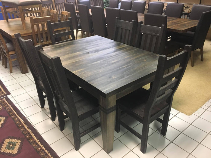 Rustic Table and Chairs with Designer Legs S-117