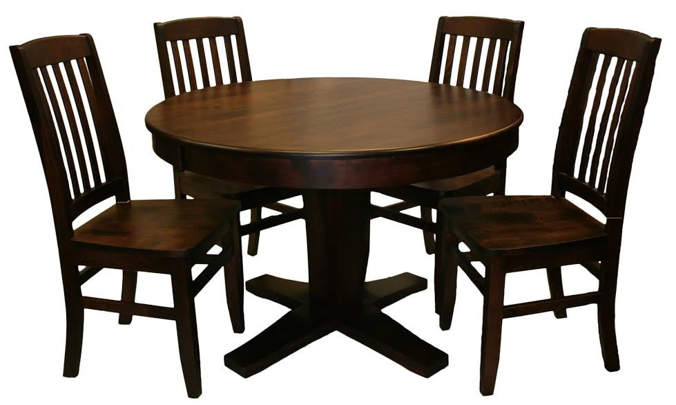 508 Single Bistro Ped Round Table Set - Old Hippy Wood Products 2415-80 Ave, Edmonton, AB