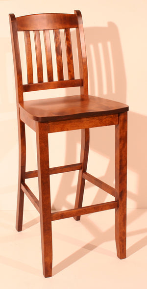 "783 Scholar Stool 24"" - Old Hippy Wood Products 2415-80 Ave, Edmonton, AB"