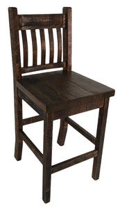 R849 Bent-Back Stool 24""