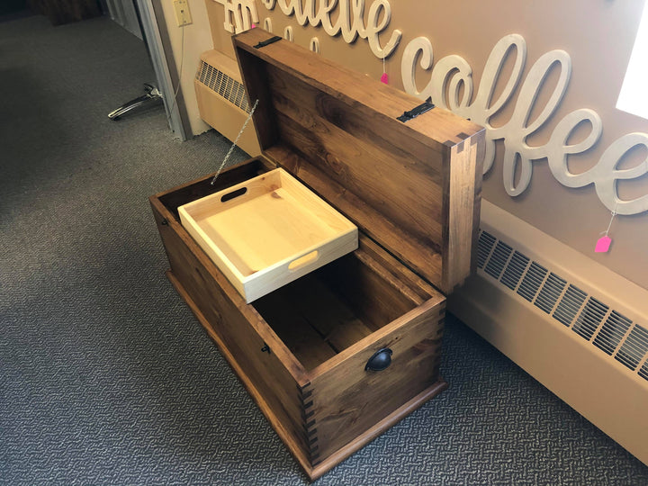 Pine Hope Chest - Old Hippy Wood Products 2415-80 Ave, Edmonton, AB