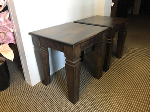Designer End Table - Old Hippy Wood Products 2415-80 Ave, Edmonton, AB