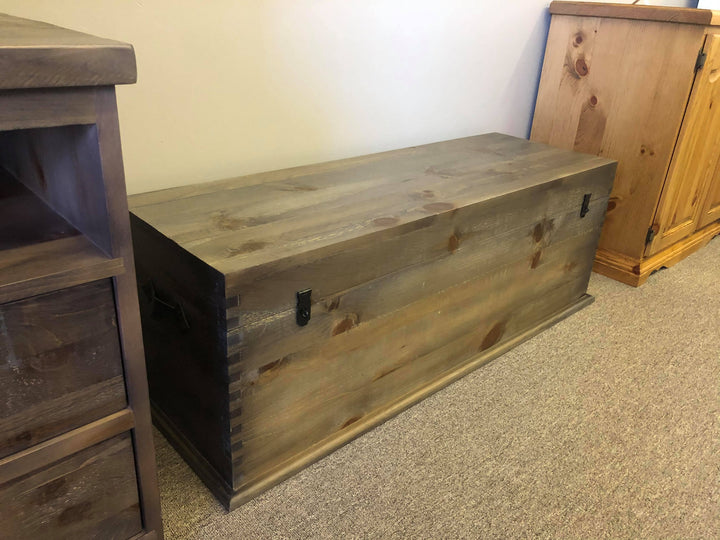 Rustic Pine Hope Chest - Old Hippy Wood Products 2415-80 Ave, Edmonton, AB