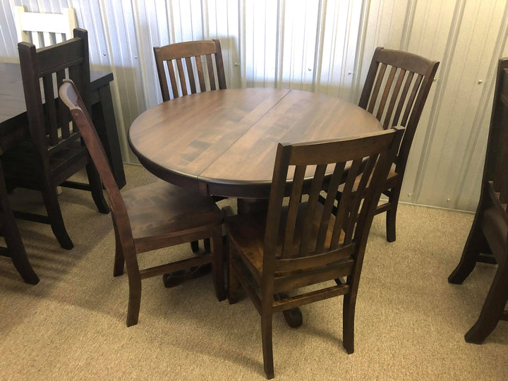 Small Round Table and 4 Chairs - Old Hippy Wood Products 2415-80 Ave, Edmonton, AB
