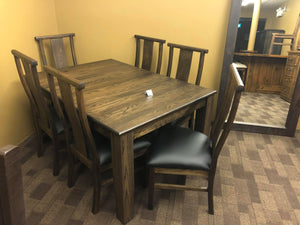 Norman Table and 6 Chairs - Old Hippy Wood Products 2415-80 Ave, Edmonton, AB
