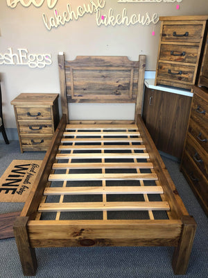 Twin Rustic Bed - Old Hippy Wood Products 2415-80 Ave, Edmonton, AB