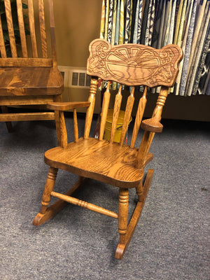 Childs Rocker - Old Hippy Wood Products 2415-80 Ave, Edmonton, AB