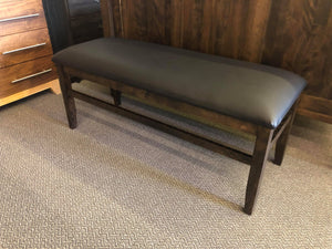 Scholar Bench with Padded Seat - Old Hippy Wood Products 2415-80 Ave, Edmonton, AB