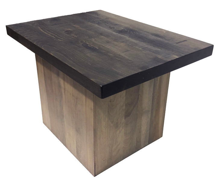 #R4150 - bloq end table - Old Hippy Wood Products 2415-80 Ave, Edmonton, AB